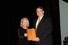 Greg Klees - 2015 Walter J. Howe Member of the Year Award Presented by Judge Barbara Howe