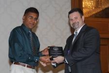 Distinguished Member Award - Srinivasan Rathinam
