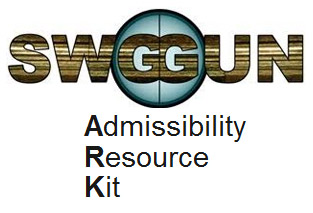 The Admissibility Resource Kit (ARK) is a repository of pertinent information designed to primarily assist Firearms and Toolmark Examiners in quickly preparing for evidence admissibility hearings.