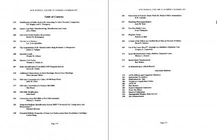 AFTE Journal Vol 29 No 3 (1997)
