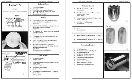 AFTE Journal Vol 33 No 1 (2001)