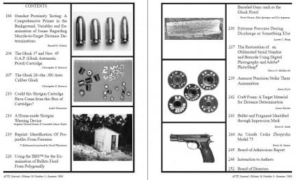 AFTE Journal Vol 36 No 3 (2004)