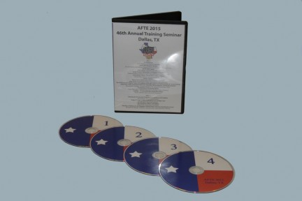 Training Seminar DVD AFTE 2015 - Dallas, TX