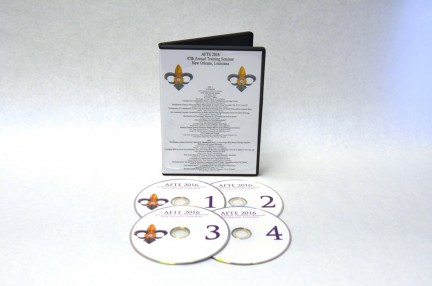 Training Seminar DVD AFTE 2016 - New Orleans, LA