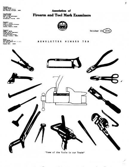 AFTE Newsletter Number 10 (1970)