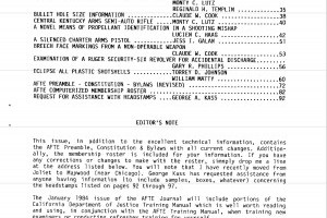 AFTE Journal Vol 15 No 4 (1983)