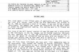 AFTE Journal Vol 16 No 2 (1984)