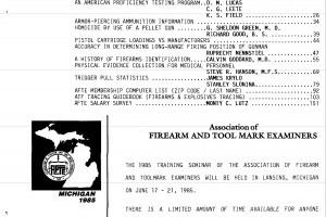 AFTE Journal Vol 17 No 1 (1985)