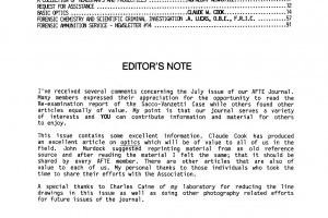 AFTE Journal Vol 17 No 4 (1985)