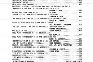 AFTE Journal Vol 21 No 3 (1989)