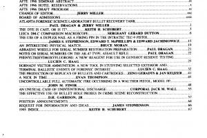 AFTE Journal Vol 28 No 1 (1996)