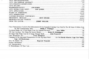 AFTE Journal Vol 28 No 2 (1996)