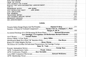 AFTE Journal Vol 28 No 4 (1996)