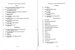 AFTE Journal Vol 30 No 1 (1998)