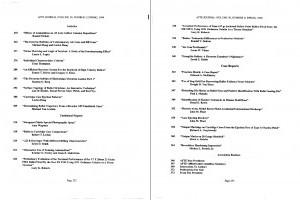 AFTE Journal Vol 30 No 2 (1998)