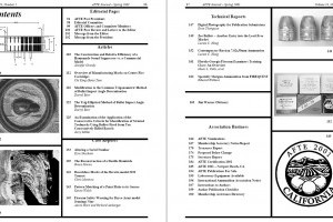 AFTE Journal Vol 33 No 2 (2001)