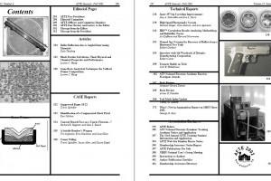 AFTE Journal Vol 33 No 4 (2001)