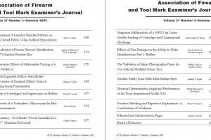 AFTE Journal Vol 37 No 3 (2005)