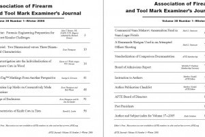 AFTE Journal Vol 38 No 1 (2006)