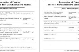 AFTE Journal Vol 38 No 2 (2006)