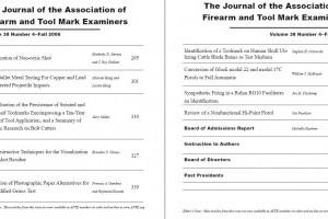 AFTE Journal Vol 38 No 4 (2006)