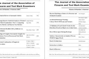AFTE Journal Vol 39 No 3 (2007)