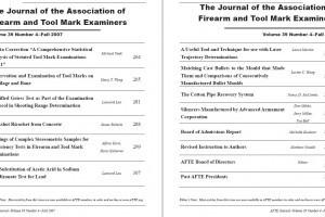 AFTE Journal Vol 39 No 4 (2007)