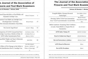 AFTE Journal Vol 40 No 1 (2008)