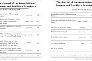 AFTE Journal Vol 40 No 2 (2008)