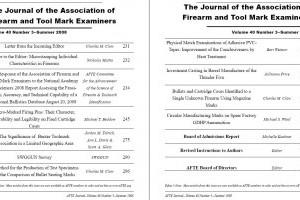 AFTE Journal Vol 40 No 3 (2008)