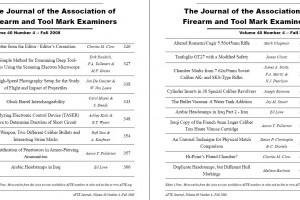 AFTE Journal Vol 40 No 4 (2008)