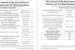 AFTE Journal Vol 41 No 2 (2009)
