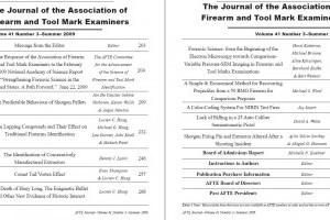 AFTE Journal Vol 41 No 3 (2009)