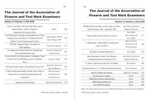 AFTE Journal Vol 41 No 4 (2009)