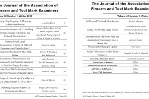AFTE Journal Vol 42 No 1 (2010)