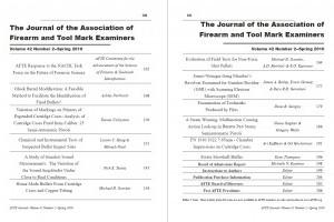 AFTE Journal Vol 42 No 2 (2010)