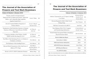 AFTE Journal Vol 42 No 3 (2010)