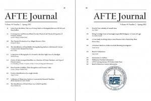 AFTE Journal Vol 44 No 2 (2012)