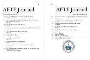 AFTE Journal Vol 44 No 4 (2012)