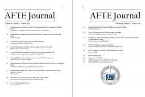 AFTE Journal Vol 45 No 1 (2013)