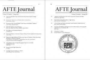 AFTE Journal Vol 45 No 2 (2013)