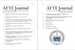 AFTE Journal Vol 45 No 3 (2013)
