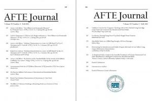 AFTE Journal Vol 45 No 4 (2013)