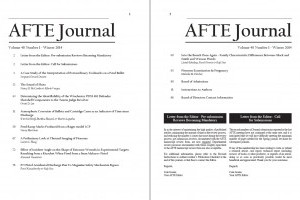 AFTE Journal Vol 46 No 1 (2014)