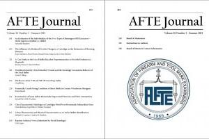 AFTE Journal Vol 46 No 3 (2014)