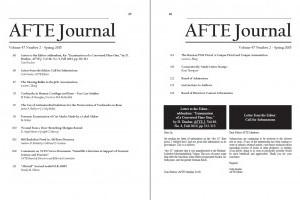 AFTE Journal Vol 47 No 2 (2015)