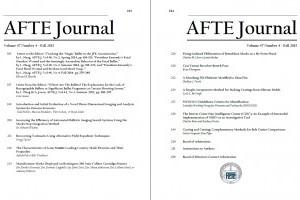 AFTE Journal Vol 47 No 4 (2015)