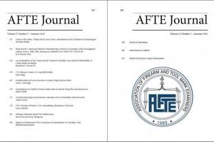 AFTE Journal Vol 51 No 3 (2019)