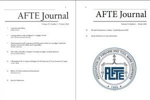 AFTE Journal Vol 52 No 1 (2020)