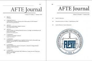 AFTE Journal Vol 52 No 3 (2020)